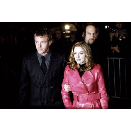 Madonna And Boyfriend Guy Ritchie At Premiere Of Next Best Thing New York February 29 2000 Photo Cj Contino  Everett Collection