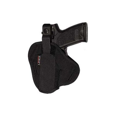 Uncle Mikes Ambidextrous Super Belt Slide Holster Cordura Black Size 30