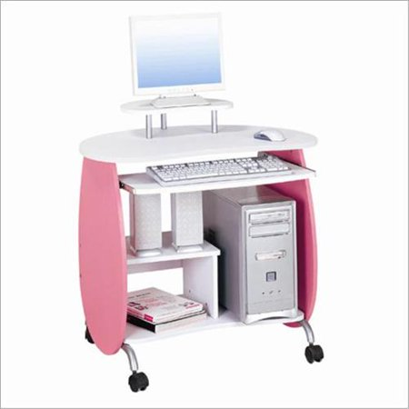 Techni mobili girls computer desk pink white for Computer schreibtisch gunstig