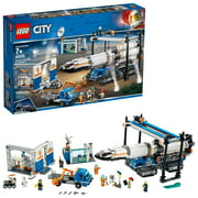 LEGO City Space Rocket Assembly & Transport 60229 Toy Set (1055 Pieces)