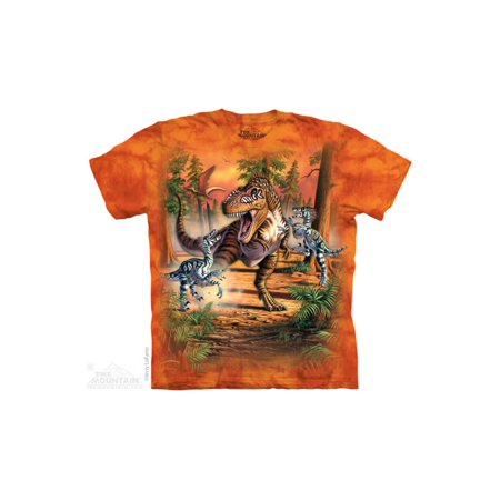 The Mountain Dino Battle - Ch Big Boys T-Shirt Tee ()