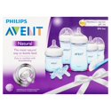 Philips Avent Natural Infant Baby Bottle Starter Set (Blue)
