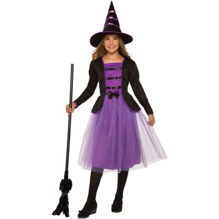 Girls Stella The Witch - Youth Witch Costume