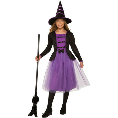 Girls Stella The Witch - Witch Girl Costume