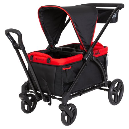 Baby Trend Mars Red Tour 2-in-1 Stroller Wagon