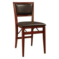 Linon Keira Padded Folding Dining Chairs - Set of 2