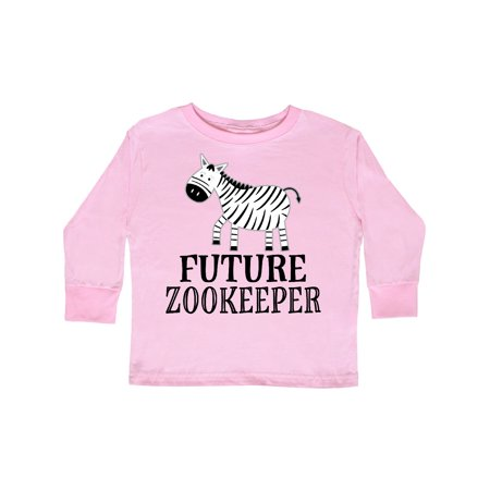 Future Zookeeper Zoo Animals Toddler Long Sleeve -
