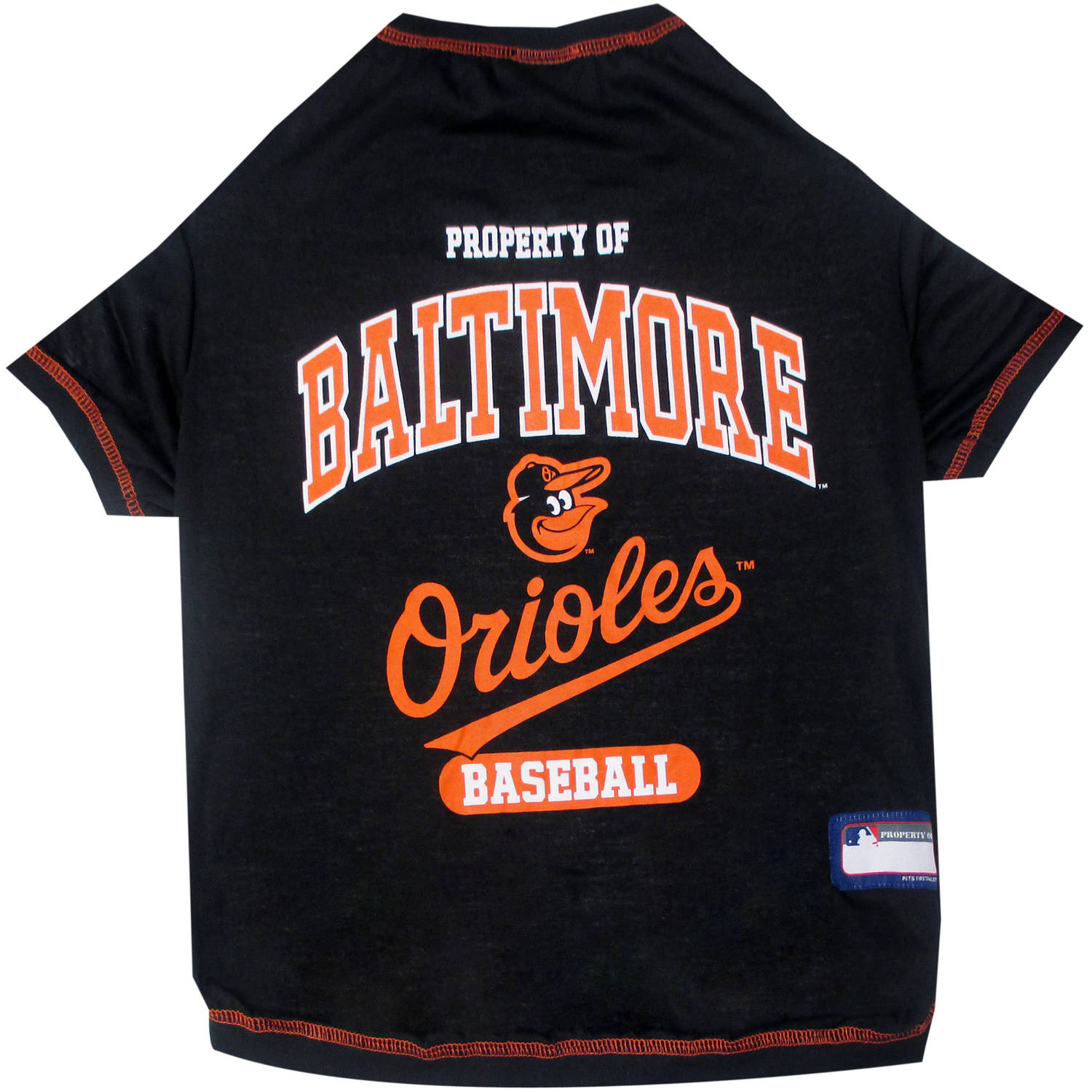 Pets First MLB Baltimore Orioles Pet Tee Shirt