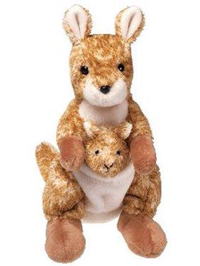 TY Beanie Baby - WILLOUGHBY the Kangaroo (7 inch)