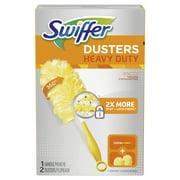 Swiffer Dusters Heavy Duty Starter Kit (1 Handle, 2 Dusters)