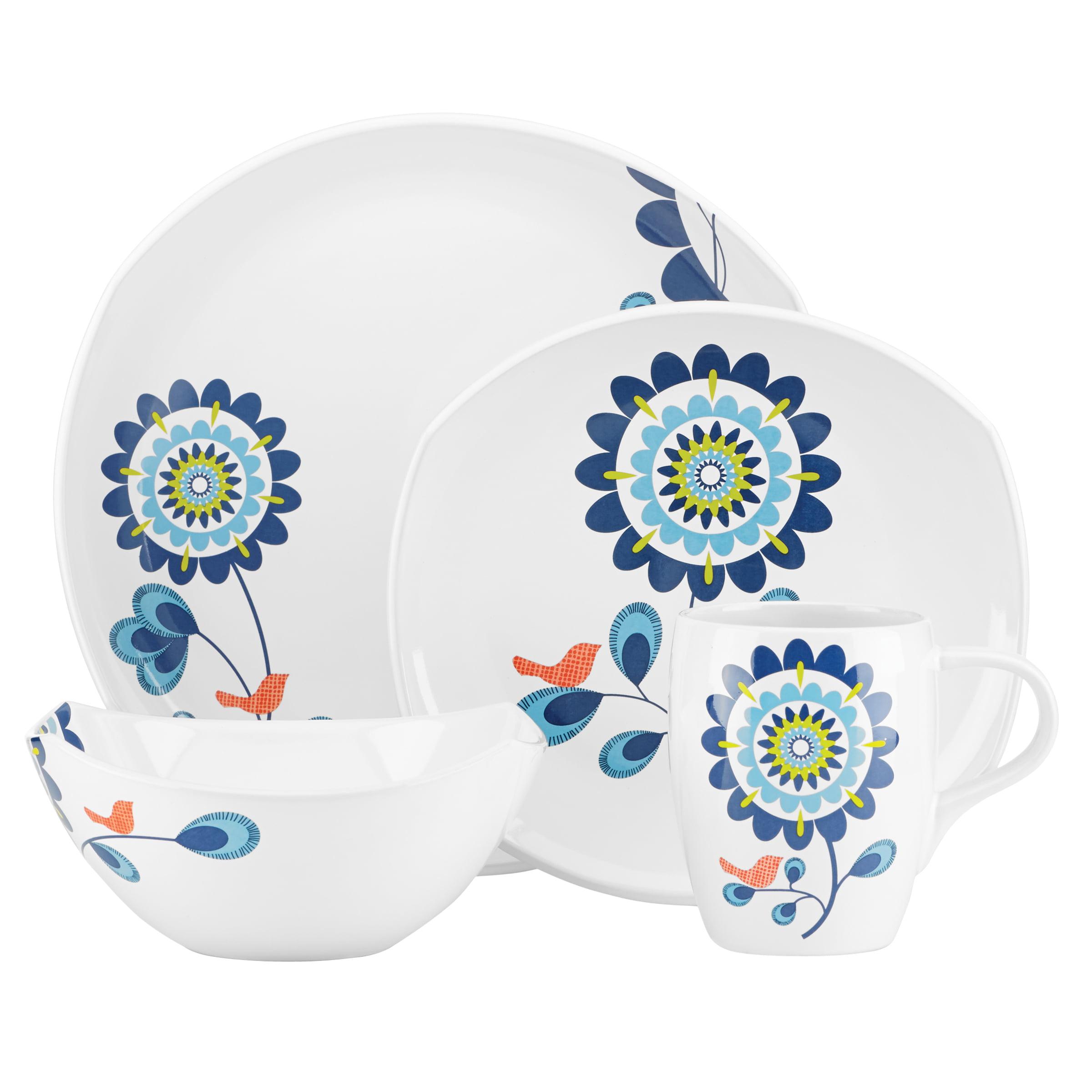 Dansk Dinnerware, Classic Fjord Tweet 4-Piece Place Setting by Lenox