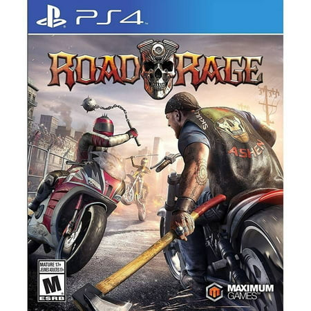 Road Rage (PS4) MAXIMUM GAMES - New Rage Single Card