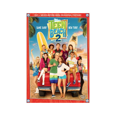 Teen Beach Movie 2 (DVD) (Best Beaches In Zihuatanejo)
