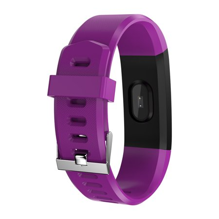 Sports Smart Watch Fitness Smart Bracelet Blood Pressure Heart Rate Sleeping Monitor Distance Calories Step Counter Message Call Reminder Smart Sports Wristband - image 7 of 7