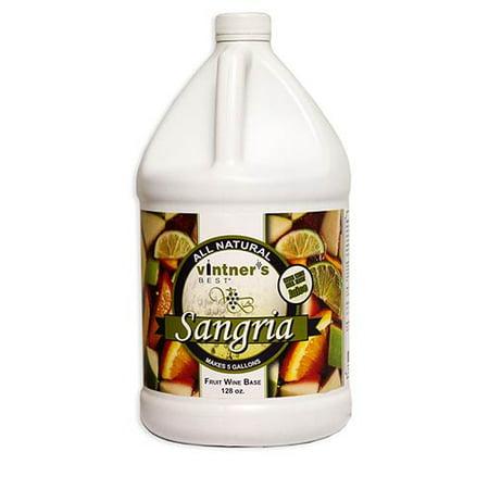 Vintner's Best Sangria Fruit Wine Base 128 oz. (Best Bottled Sangria Wine)