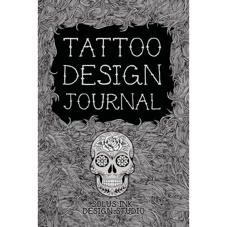 Tattoo Sketchbooks: Tattoo Design Journal: Personal Tattoo Idea Planner (Paperback)