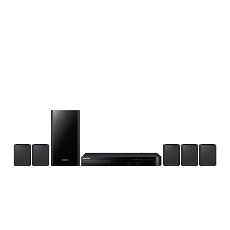 Samsung HT-J4500 5.1 Channel 500 Watt 3D Smart Blu-Ray Home Theater System with Dolby Digital Plus & Bluetooth Connectivity