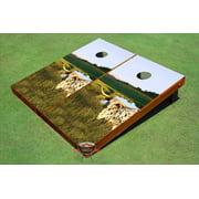 Long Horn Theme Cornhole Boards