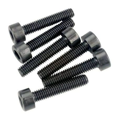 - 2586 Hex-Drive Cap-Head Machine Screws, 3x15mm (set of 6), Set of six 3mm x 15mm machine screws By Traxxas Ship from US