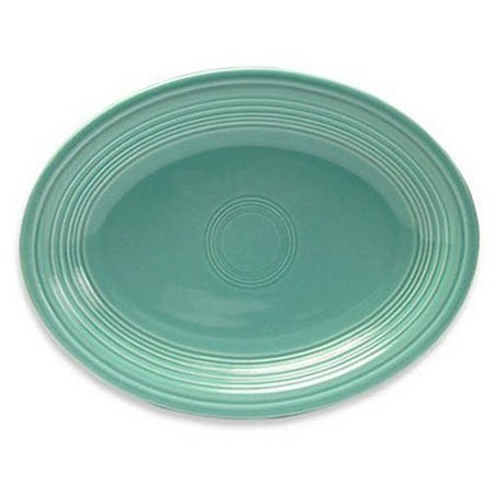 Homer Laughlin China Fiesta Turquoise Oval Platter 9 5/8