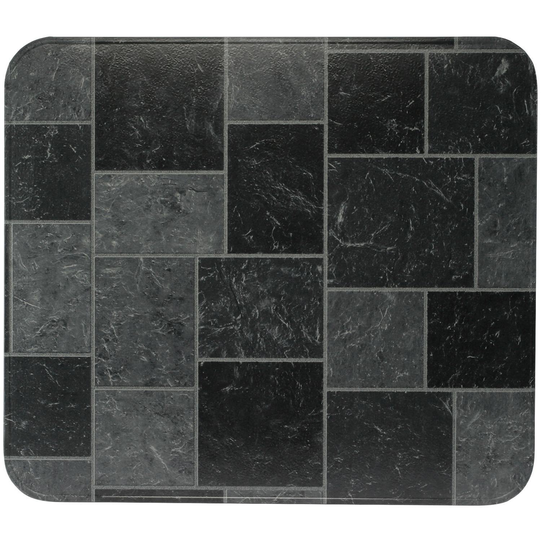 "HY-C T2UL3636GT-1C Type 2 UL1618 Gray Slate Stove Board (36"" x 36"")"