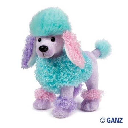 Toy Poodle Dog - Cp Ganz Webkinz Poofy Poodle Dog Plush Toy Comes With Sealed Code