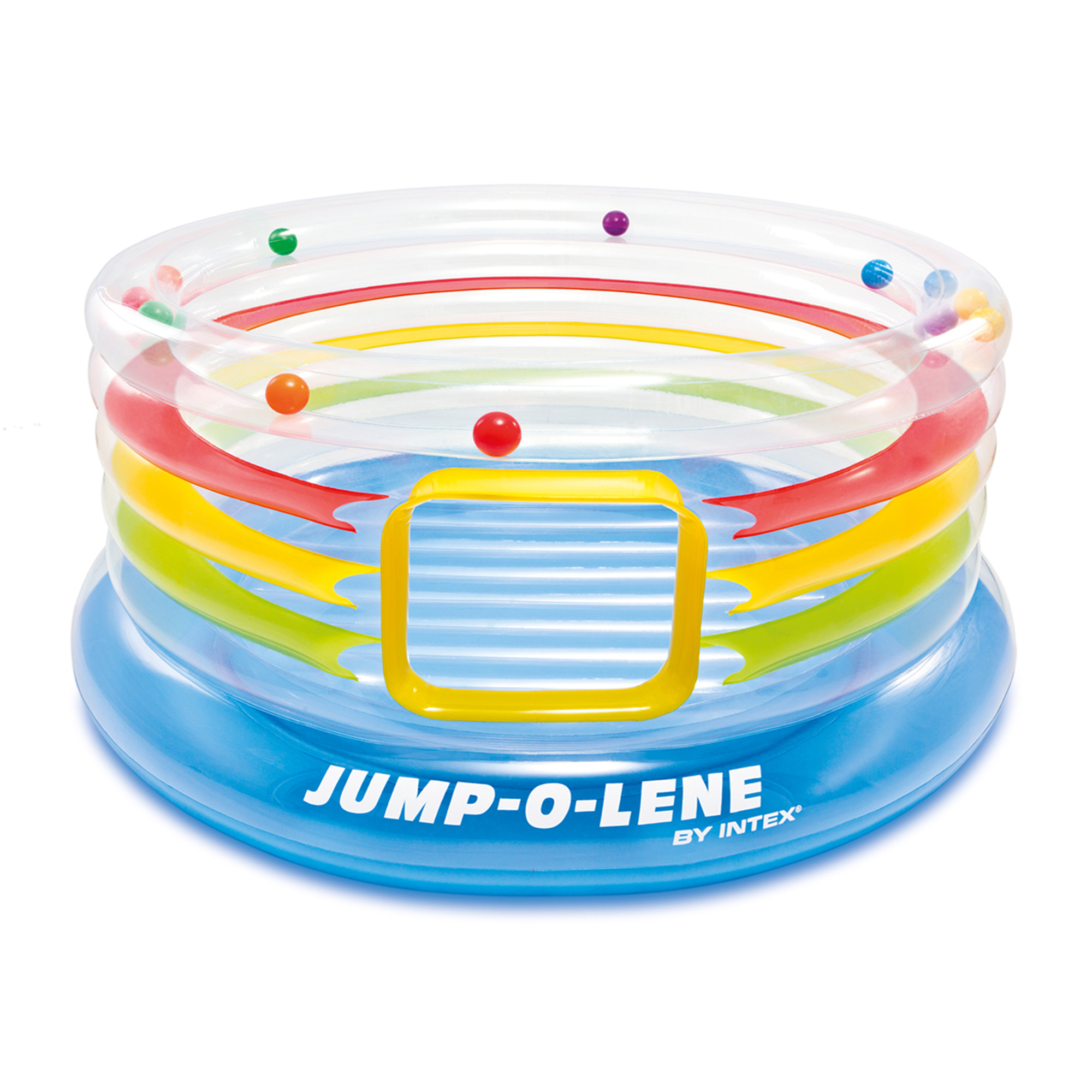 Intex - Jump-o-Lene Transparent Ring Bounce