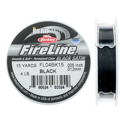 FireLine Braided Beading Thread, 4lb Test Weight and .005