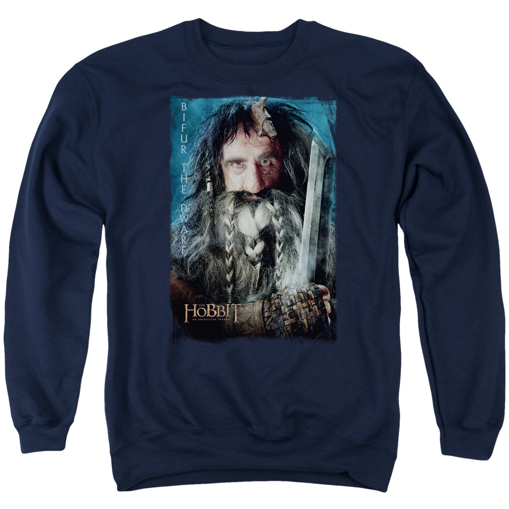 The Hobbit Bifur Mens Crewneck Sweatshirt
