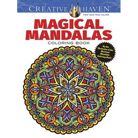 Creative Haven Magical Mandalas Coloring Book : By the Illustrator of the Mystical Mandala Coloring - Halloween Font Illustrator