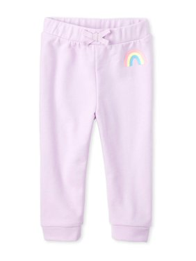 The Children's Place Baby & Toddler Girl Rainbow Graphic Joggers