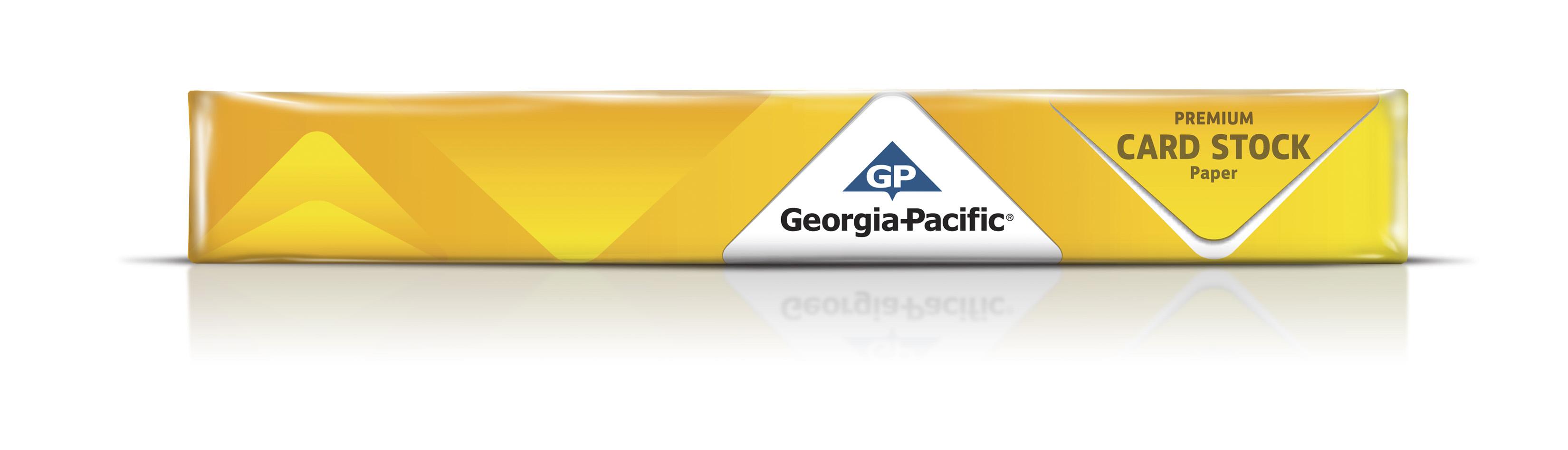 "Georgia-Pacific White Cardstock Paper, 8.5"" x 11"", 110 lb, 150 Sheets - Walmart.com"