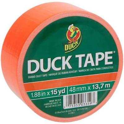 "Duck Tape 1.88"" x 15 yd Orange X - Factor Duct Tape"