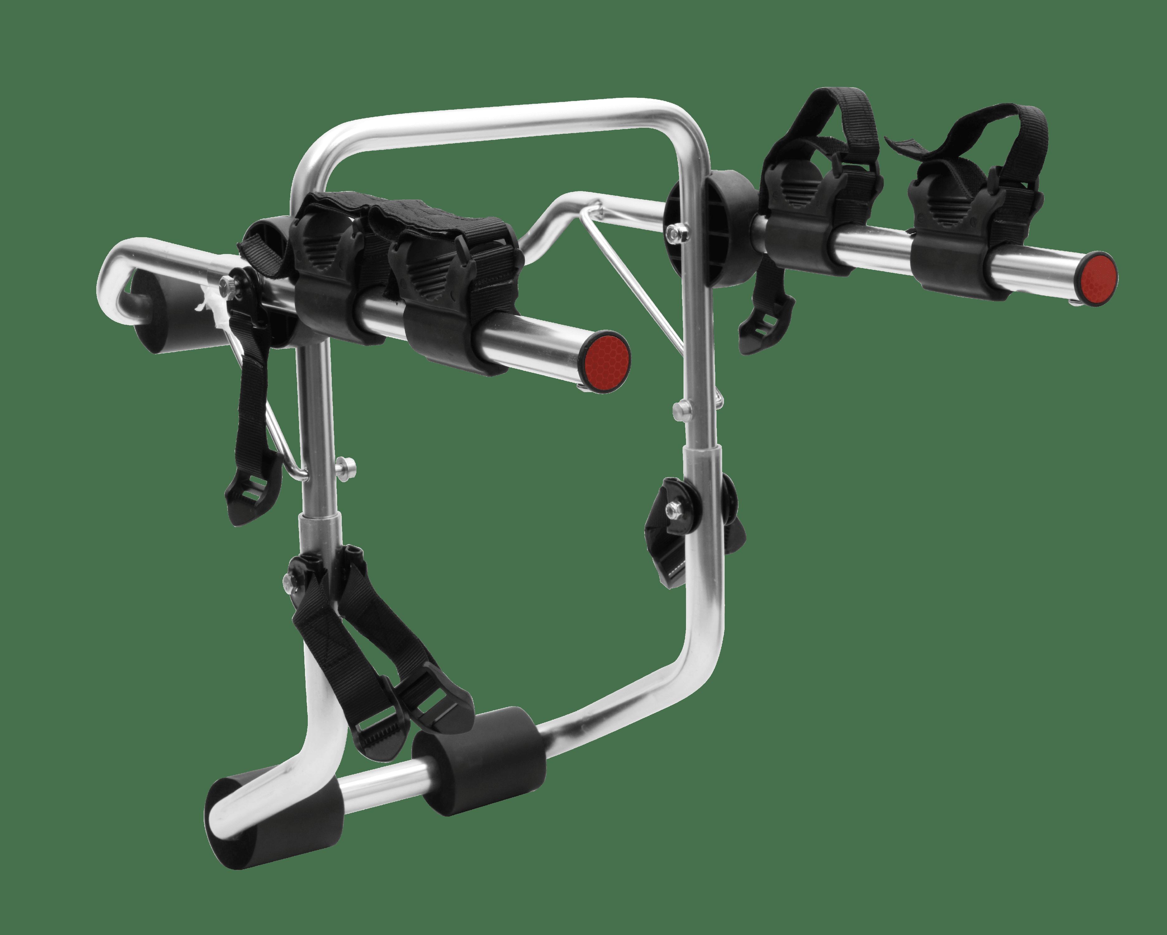 Trunk Mounted Bike Carrier Rack Holder 2 Bikes