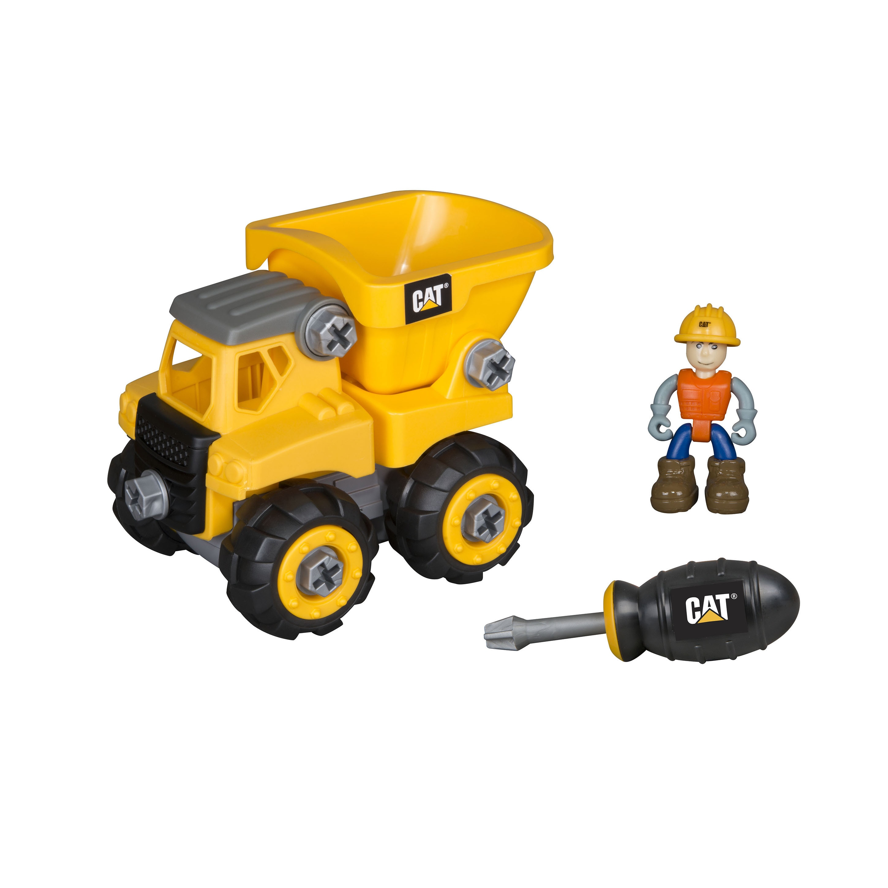 Caterpillar Junior Operator Dump Truck Construction Vehicle