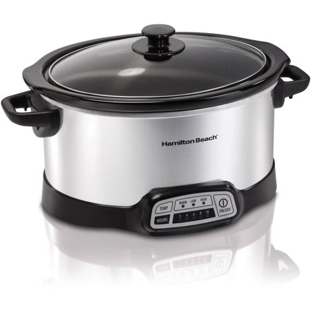 Hamilton Beach 5 Quart Programmable Slow Cooker (Small Slow Cooker)