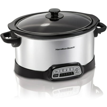 Hamilton Beach 5 Quart Programmable Slow Cooker (Best Budget Slow Cooker)