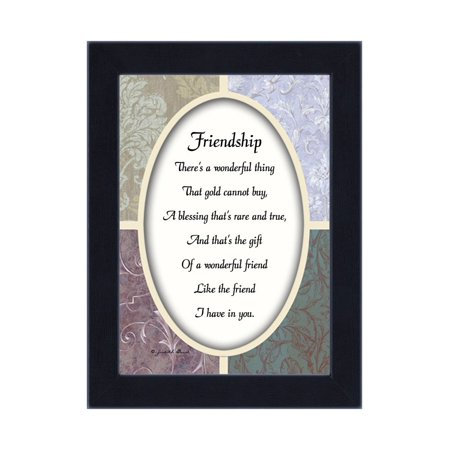 Friendship, Best Friend Gifts, Friends Picture Frame, 7x9