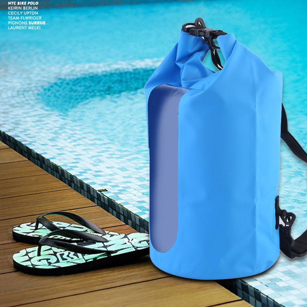 Waterproof Dry Bag,Waterproof Dry Bag Roll Top Survival Sack Kit Dry Gear Bag Camping Equipment by wantyouabc