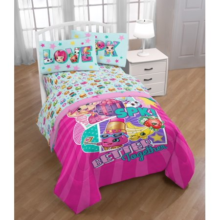 Shopkins Better Together Kids Bedding Twin Sheet Set, 1 Each
