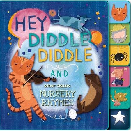Hey Diddle Diddle and Other Classic Nursery Rhymes (Board Book)
