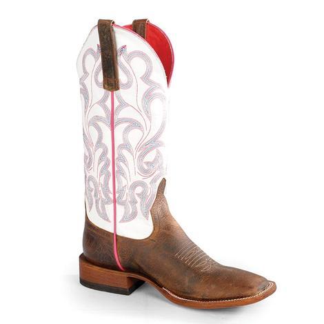 Macie Bean Womens Toast Bison Boots Vanilla Western Boots Bison 147b53