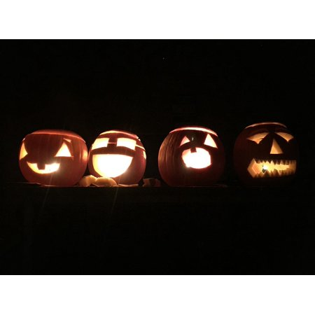LAMINATED POSTER Autumn October Carving Halloween Pumpkin Holiday Poster Print 24 x 36 ()