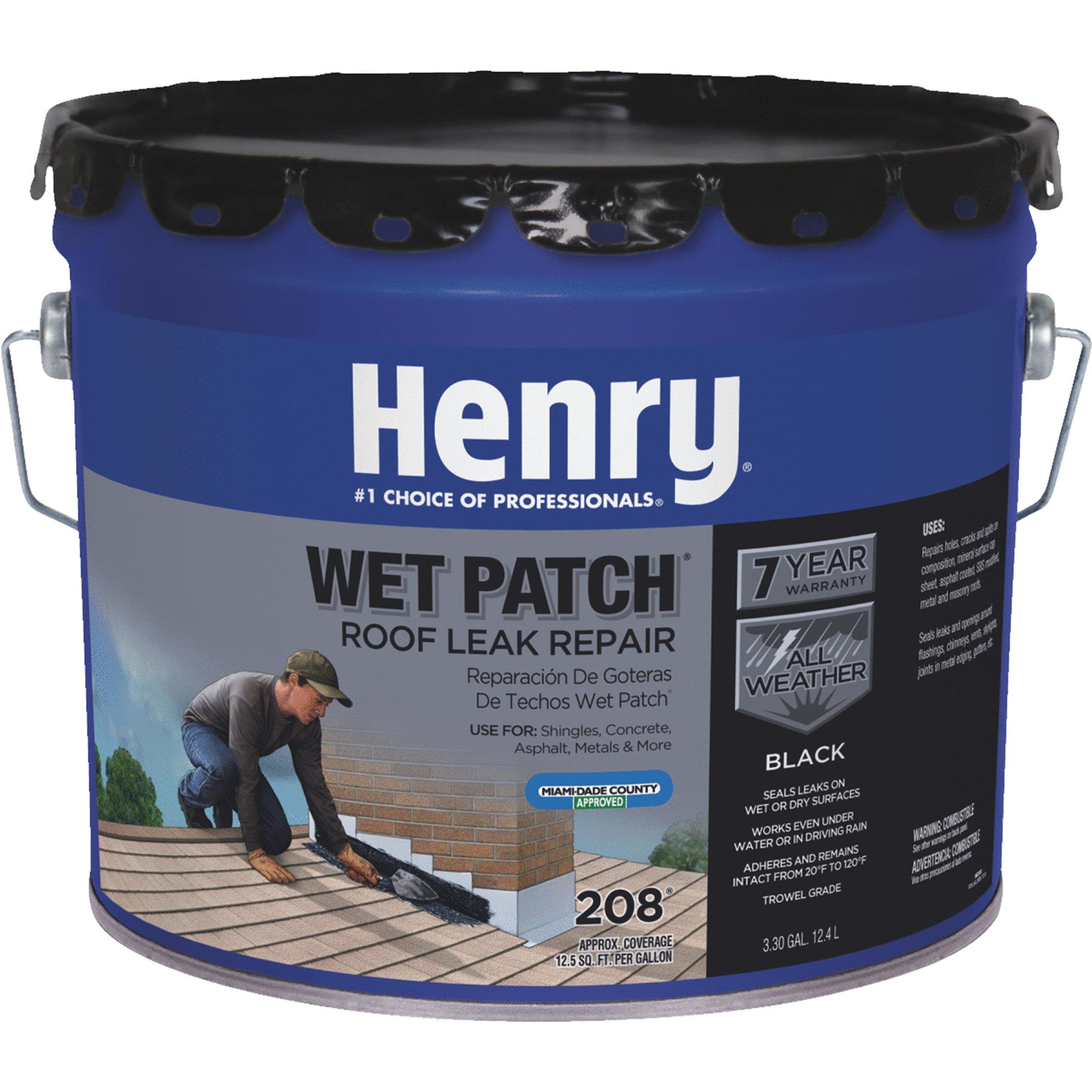 Henry Wet Patch Roof Cement and Patching Sealant