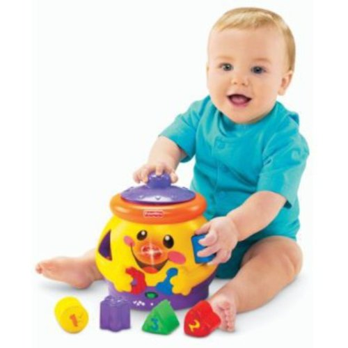 Fisher-Price Laugh & Learn Shapes And Numbers Cookie Jar
