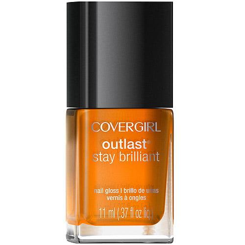 COVERGIRL Outlast Stay Brilliant Nail Gloss, 243 Goldilocks, 0.37 fl oz