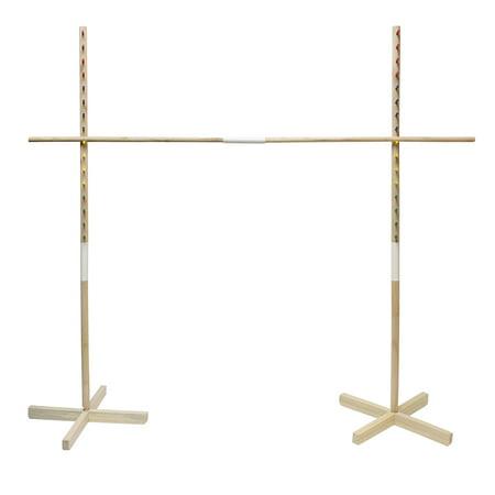 Wooden Limbo Game for Kids Adults Limbo Stick Set Limbo Pole Limbo Kit](Game Limbo)