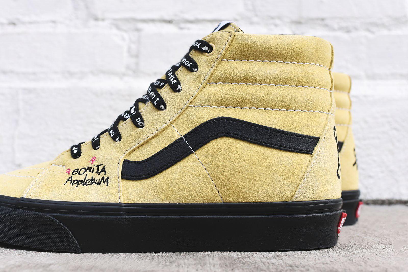 d43f2f6a4321 Vans - Mens Vans x A Tribe Called Quest SK8-Hi Black Mellow Yellow  VN0A38GER3 - Walmart.com