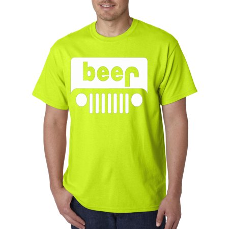 72a221e9a New Way - 139 - Unisex T-Shirt Beer Jeep Funny Drinking Parody - Walmart.com