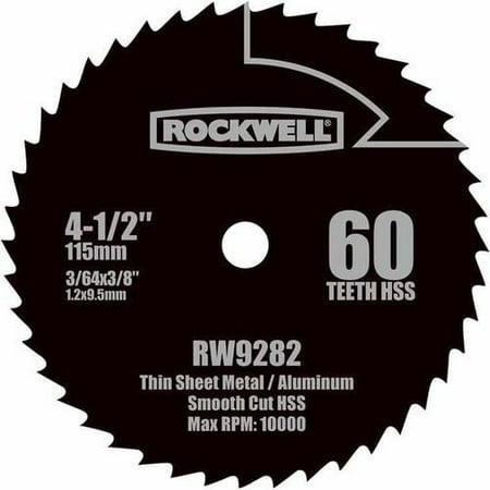 Dual Saw Blade (Rockwell Compact Circular Saw 4.5-Inch Hss)